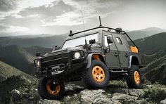 Armored 4x4