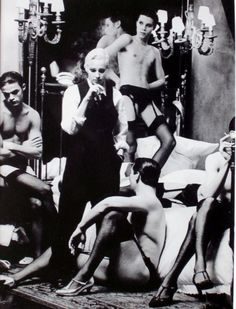Steven Meisel Madonna pour Rolling - Stone Magazine, Chair et de fantaisie vers 1991