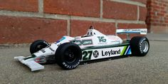 Williams FW07B Formula 1, as driven to the 1980 Drivers and Constructors World Championships by Alan Jones. 1:18-scale resin model by Spark, available now at Model Citizen.