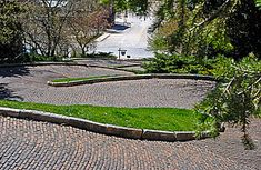 """Snake Alley, Burlington, Iowa--- If you're looking for steep and winding roads (and the bicycle ride of your life), head to Snake Alley. Ripley's Believe It or Not, noting the road's sharp turns and slope, dubbed Snake Alley """"The Crookedest Street In The World,"""" ahead of San Francisco's famed Lombard Street."""