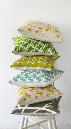 Skinny laMinx Pillows