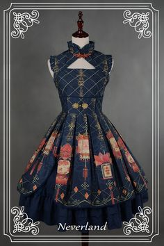 Soufflesong is an indie Lolita fashion brand based in China. We design and sell our own lines of Gothic, Classic and Sweet Lolita fashion to worldwide. Pretty Outfits, Pretty Dresses, Beautiful Outfits, Cool Outfits, Kawaii Fashion, Cute Fashion, Gothic Lolita Fashion, Harajuku, Mode Costume