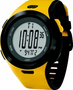 Soleus Running Watch - Ultra Sole - Varsity Yellow / Black