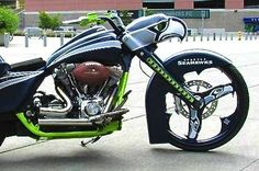 Seattle Seahawks Custom Motorcycle Puts All Other Vehicles to Shame