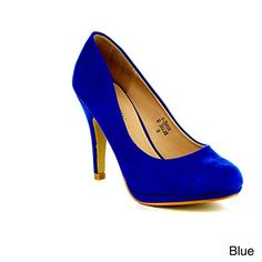 Blue heels for all my blue dresses