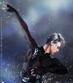 Viktor Nikiforov paint 1 by Brilcrist on DeviantArt