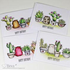 I couldnt resist  more cats in more succulents from @mftstamps  #card #cards #cardmaking #crafting #papercraft #stamps #stamping #handmade #handmadecards #karte #kartenbasteln #kartendesign #stempeln #stempel #basteln #coloring #mftstamps