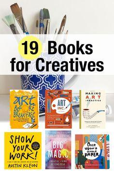 19 Books for Creatives, Artists, Creative Entrepreneurs