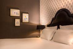 Hôtel La Parizienne – Chambre Radieuse - Elegancia Hotels #hotel #paris