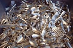 How to Craft With Old Silverware