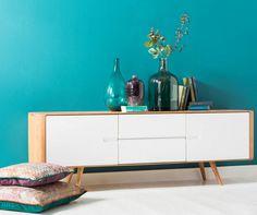 Met dit trendy ontwerp ben je verzekerd van een stijlvol woonmeubel!