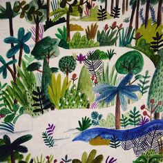 Jungle walkway by Lizzy Stewart