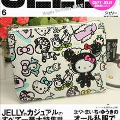 Carteira TokiDoki Hello Kitty