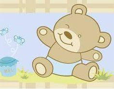 Resultado de imagem para riscos de ursinhos brincando para bordar