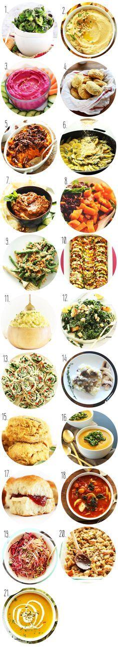 SIMPLE Vegan Thanksgiving Sides and Appetizers! #vegan #thanksgiving