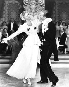Ginger Rogers and Fred Astaire in The Story of Vernon and Irene Castle  (H.C. Potter, 1939)