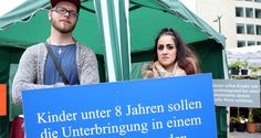 Stolen lives: Germany's ambiguous adoption policy protested / Setting up a tent in front of EU institutions in Brussels, a group of demonstrators protested against Germany for taking away children from Turkish families in what they call ambiguous and unfair adoption practices