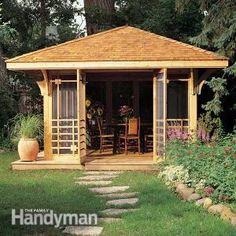 Screen House Plans | The Family Handyman