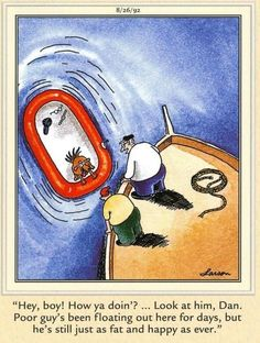 The Far Side Far Side Cartoons, Far Side Comics, Funny Cartoons, Gary Larson Far Side, How Ya Doin, The Far Side, Funny Quotes, Hilarious, Baseball Cards