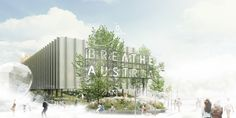 Preview of the Austrian Pavilion breathe.austria #expo2015 #expoaustria