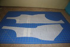 Skating Dress Tutorial Part III: Preparing the Pattern and Cutting Fabric | Doctor T Designs