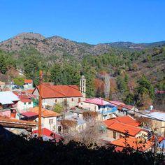 Village Treis Elies, Troodos Mountains, Cyprus  https://cyprusbutterfly.com.cy/lions/derevnya-tris-eles-venecianskie-mosty-gory-cerkvi-dikiy-vinograd