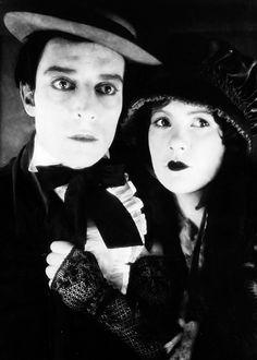Buster Keaton and Natalie Talmadge