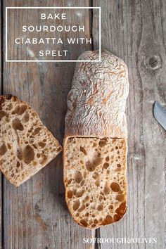 This sourdough ciabatta recipe contains spelt flour. Spelt flour has a unique taste that lifts this traditional Italian bread to another level. Sourdough Ciabatta Recipe, Sourdough Recipes, Bread Recipes, Types Of Flour, Types Of Bread, All You Need Is, Spelt Flour, Tasty, Yummy Food