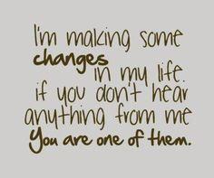Si t'as pas de mes nouvelles alors peut être tu fais partir du changement...