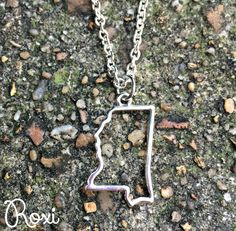 Silver Mississippi Necklace