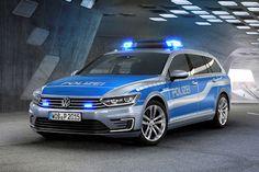 Volkswagen Passat Variant GTE Polizeiauto Kombi Plug-in-Hybrid