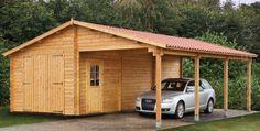 Front Carport | Houten garage / carport Normal