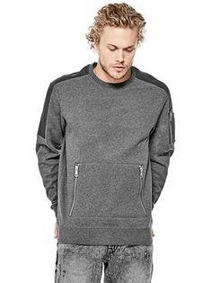 Roy Crewneck Sweater   shop.GUESS.com