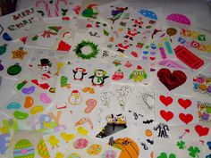 Holiday Celebration Scrapbook stickers mixed lot by 4JOY2YOU