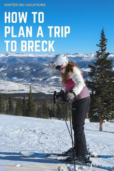 Planning a Ski Vacation in Breckenridge, Colorado. Breckenridge is a great choice for a ski vacation, with easily accessible slopes, a vibrant town centre and plenty to do off-piste from fat biking to art classes, fine dining to brewery- and distillery-hopping. Cick through to find out how to plan a winter trip to Breckenridge, Colorado. | Camels and Chocolate #breckenridge #colorado #breck #wintervacation #skivacation