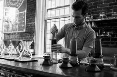 Revolver coffee Gastown, Vancouver