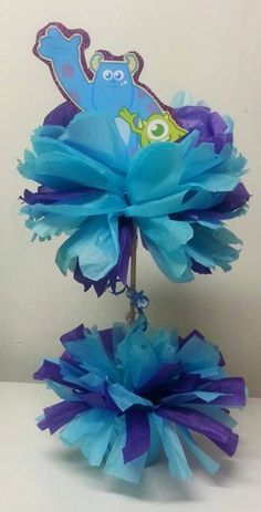 images of monsters inc baby shower | Monsters Inc Baby Shower Theme Centerpiece-Sully