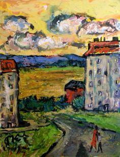 """""""Walk Around the Apartment Block"""" by David Sandum"""