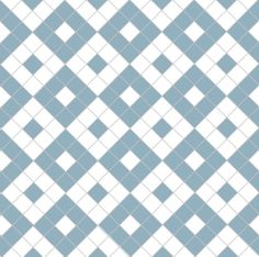 Alternating boxes in blue & white