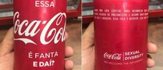 InfoNavWeb                       Informação, Notícias,Videos, Diversão, Games e Tecnologia.  : Coca-Cola faz lata contra homofobia: 'Essa Coca-Co...