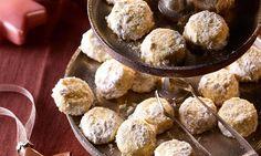 Schnell gemachtes Gebäck mit aromatischem braunen Zucker