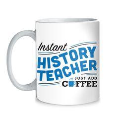 History - Instant Mug