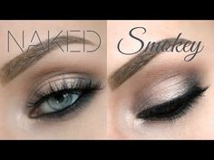 Urban Decay Naked Smoky Palette Tutorial - Grungy Smoky Eye - Lashes Love & Leather