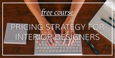 A free course to help you figure out your sweet spot and how you should price your services