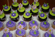 Tinkerbell cupcakes - i want to make these