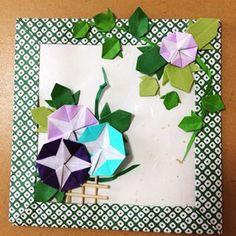 saraさんはInstagramを利用しています:「ちょっと季節は早いですが、折り紙かぶとリースとアヤメのミニリースを作りました。 カブトは7.5㎝✖️7.5㎝、アヤメは3㎝✖️3㎝の折り紙を使用しています😊#折り紙 #折り紙リース#origami #origamiart#paperart#paper…」 Origami And Kirigami, Paper Crafts Origami, Diy Origami, Diy Paper, Paper Art, Diy And Crafts, Crafts For Kids, Arts And Crafts, Origami Flowers