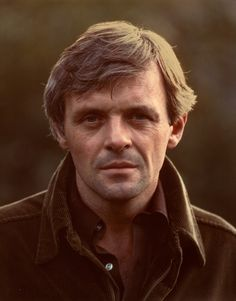 Anthony Hopkins by Jim McHugh. Love love love him today but just have to pay tribute to him as a young man. OMG.