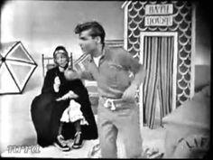 "▶ Brian Hyland ""Itsy Bitsy Teenie Weenie Yellow Polka Dot Bikini"" - Saturday Night Beech-Nut Show. July 1960 ~ This was popular in the when I heard it as a child, I Thought* it was on an album being sold on tv that also had Purple People Eater. Polka Dot Bikini, Polka Dots, Yellow Bikini, Brian Hyland, Radios, The Ventures, Muse, 60s Music, Music Clips"