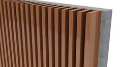 Knotwoods Clip-Batten System combines the Knotwood finish, with purpose designed hidden fastening system that allows for an unparalleled versatility and a floating finish. Timber Battens, Timber Cladding, Cladding Ideas, Outdoor Balcony, Outdoor Rooms, House Plants Decor, Plant Decor, Aluminum Fence, Aluminium Fencing