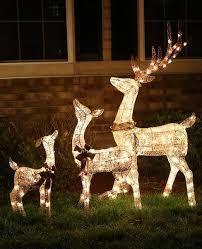 Resultado de imagen para decoracion navidad jardin